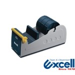 ET337 - 3 x 24mm Metal Desktop Multi-Roll Cellotape Dispenser - EXCELL