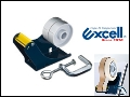 ET228 – 2 x 24mm Metal Multi-Roll tape Dispenser with G-Clamp – EXCELL