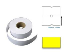 PL2212RY - 22mm x 12mm Yellow Label 1000pcs