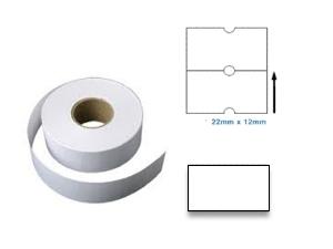PL2212R - 22mm x 12mm White Label 1000pcs