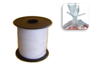 C19W - Twist tie Plastic Coated - 400m White