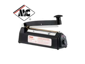 ME200HI - 200mm Hand Operated Impulse Heat Sealer -MEC