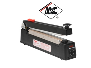 ME200HC - 200mm Hand Operated Impulse Heat Sealer with Trimmer - MEC