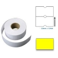 PL2212RY - 22mm x 12mm Yellow Label 1000pcs