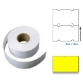 PL2616RY - 26mm x 16mm Yellow Label 1000pcs