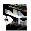 ME805FI 800mm foot operated impulse sealer