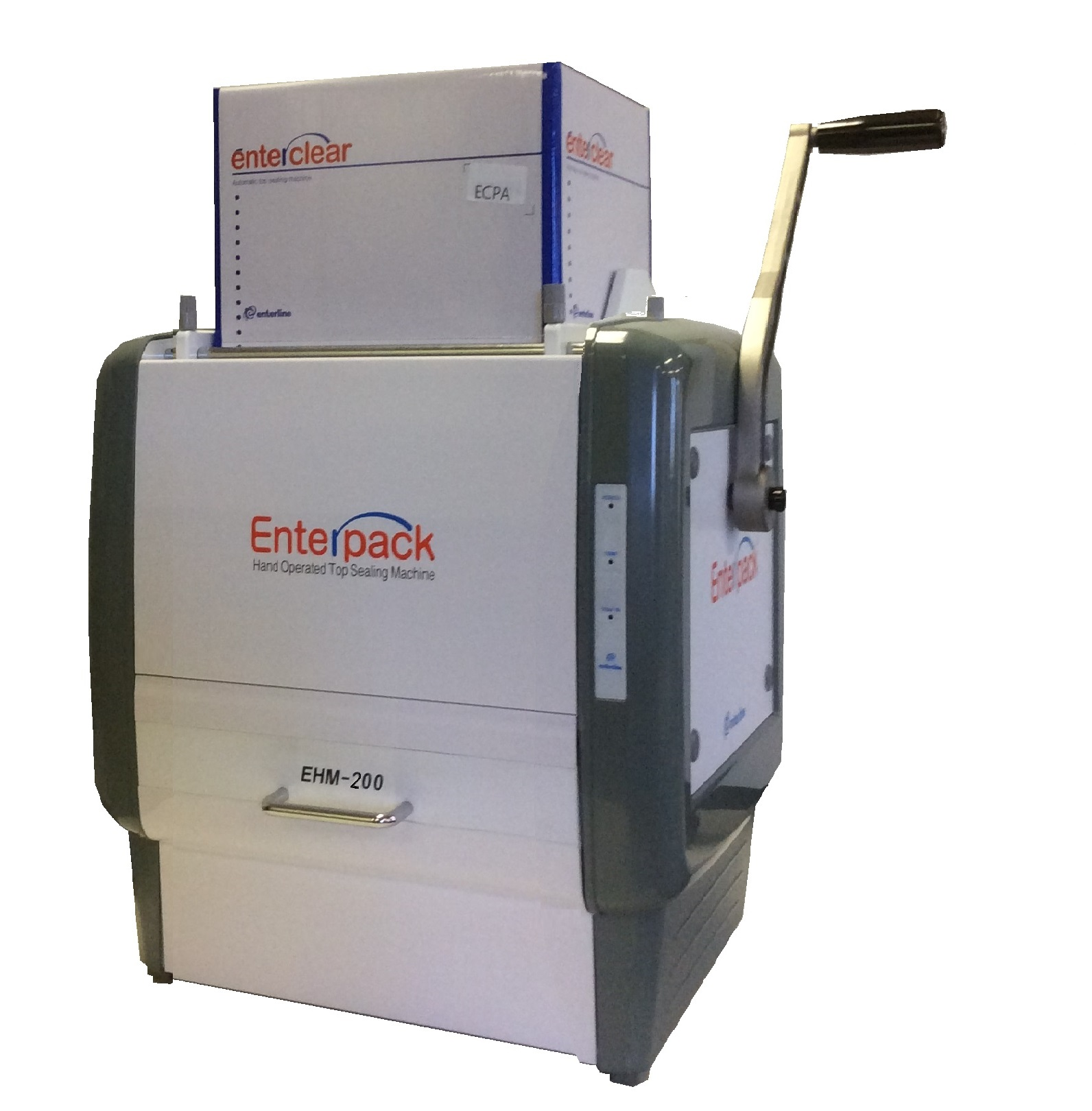 EHM 200 ENTERPACK MANUAL TRAY SEALING MACHINE