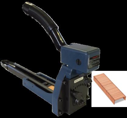 ST105- Top Box Carton Stapler for C34 (19mm) Copper Staples